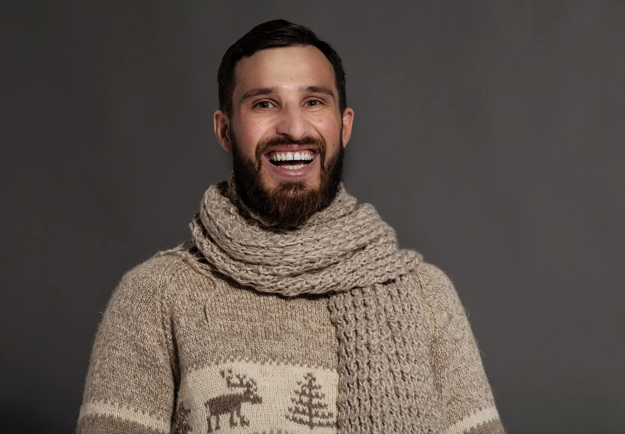 Jak nosić szalik męski